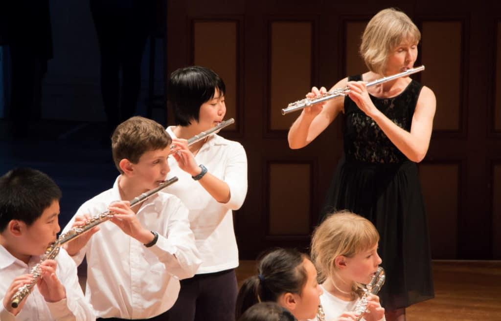 Flute lessons, learn the flute, suitable for all ages
